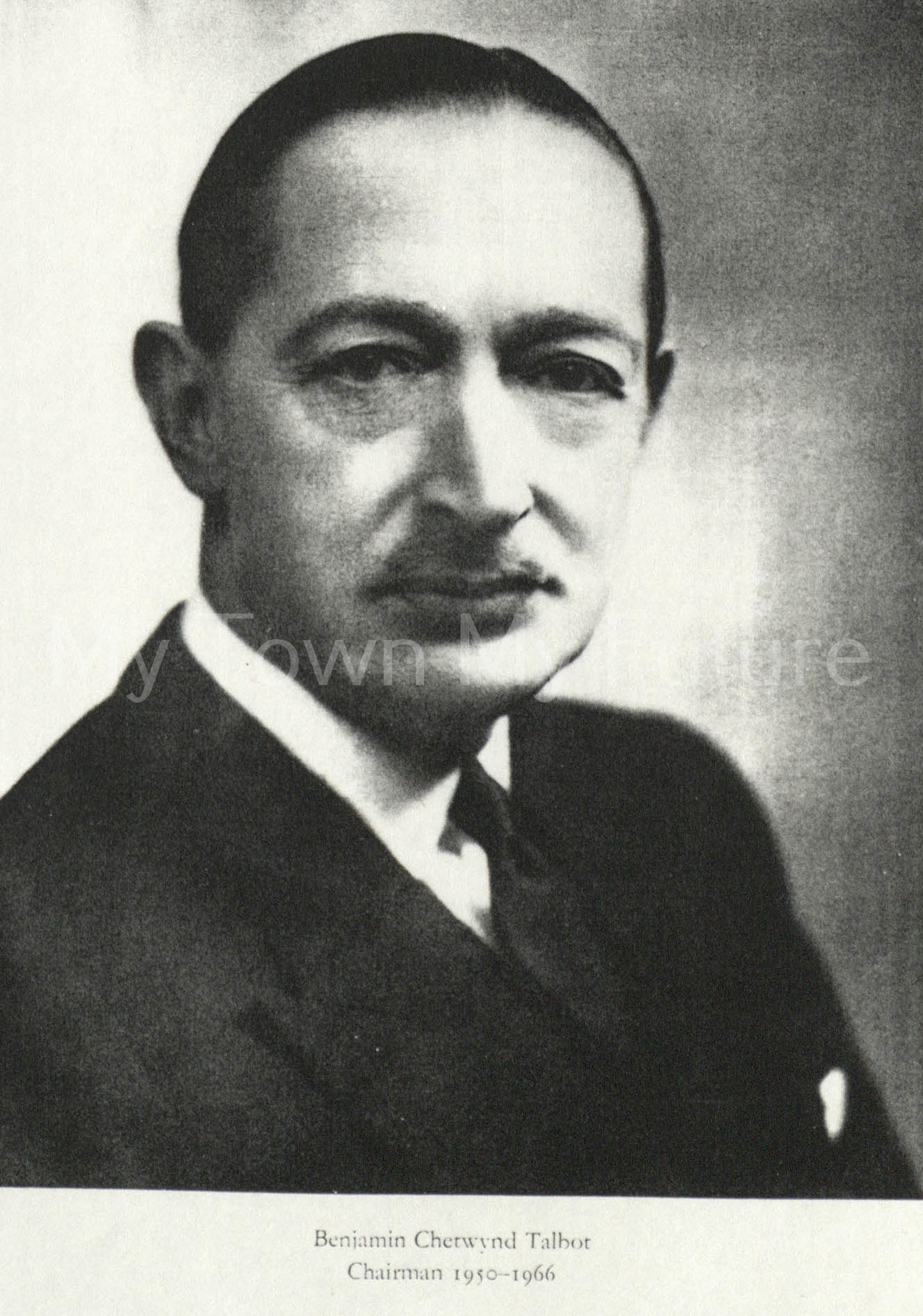 Benjamin Chetwynd Talbot - British Steel