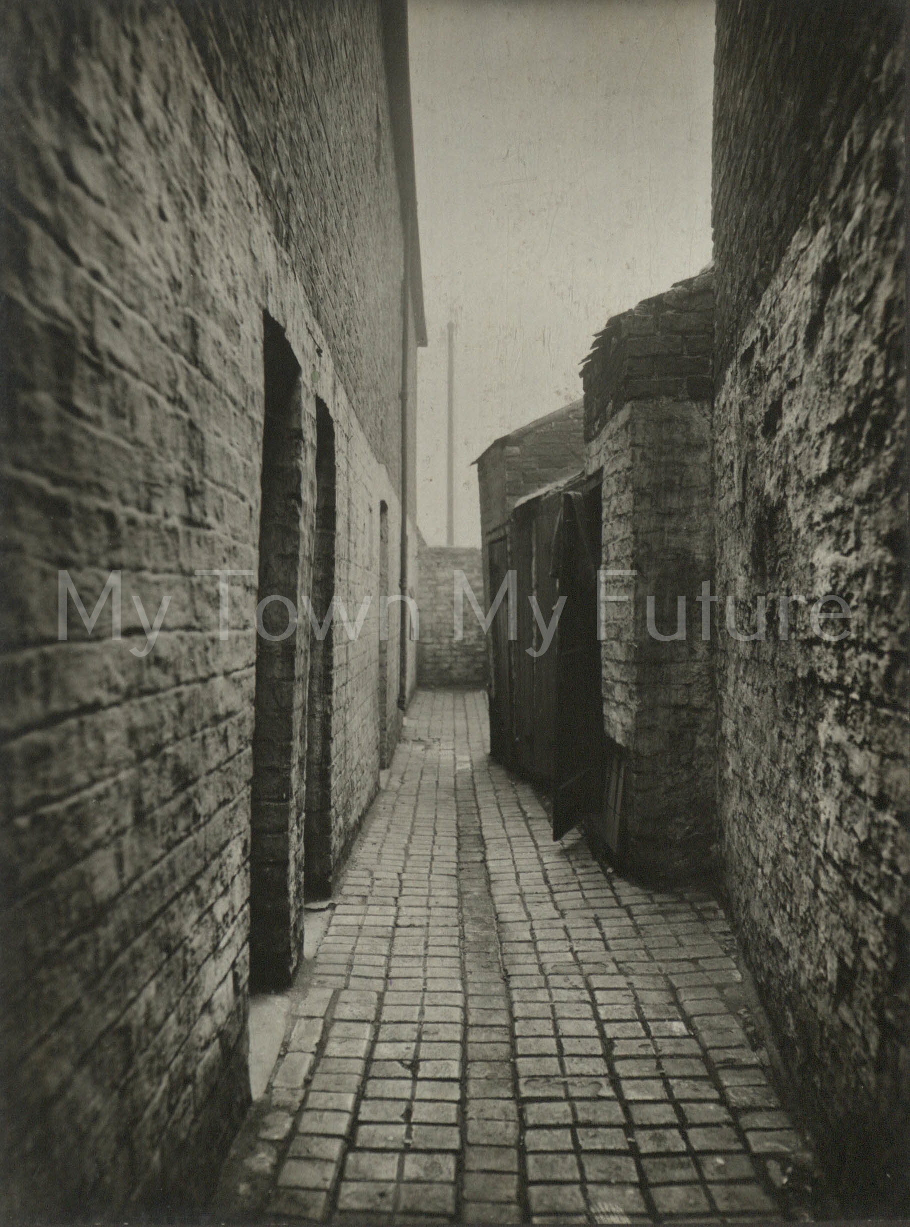 Danley Place, Off North Road, St Hilda's Area.