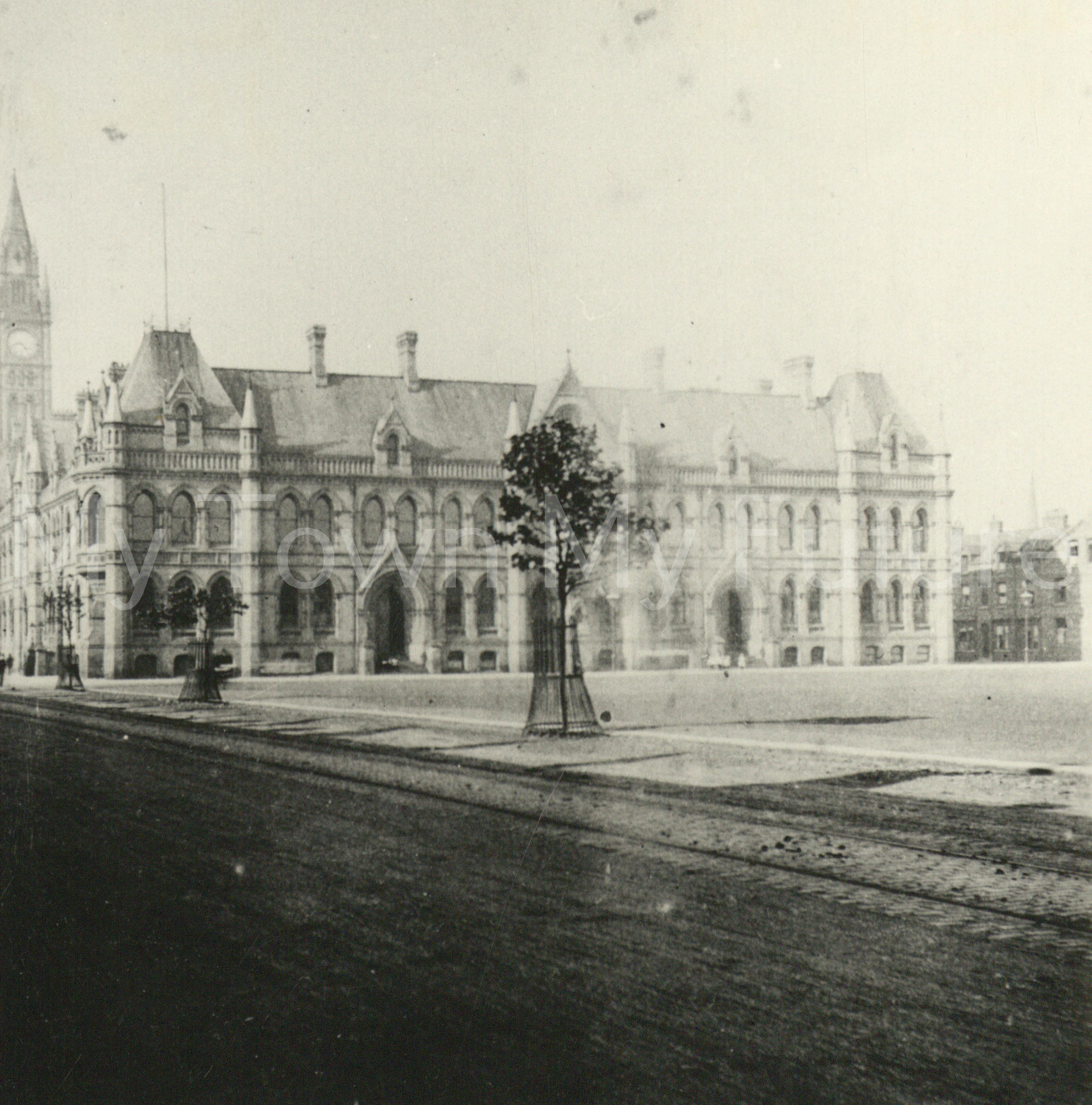 New Town Hall,Albert Road,Victoria Square