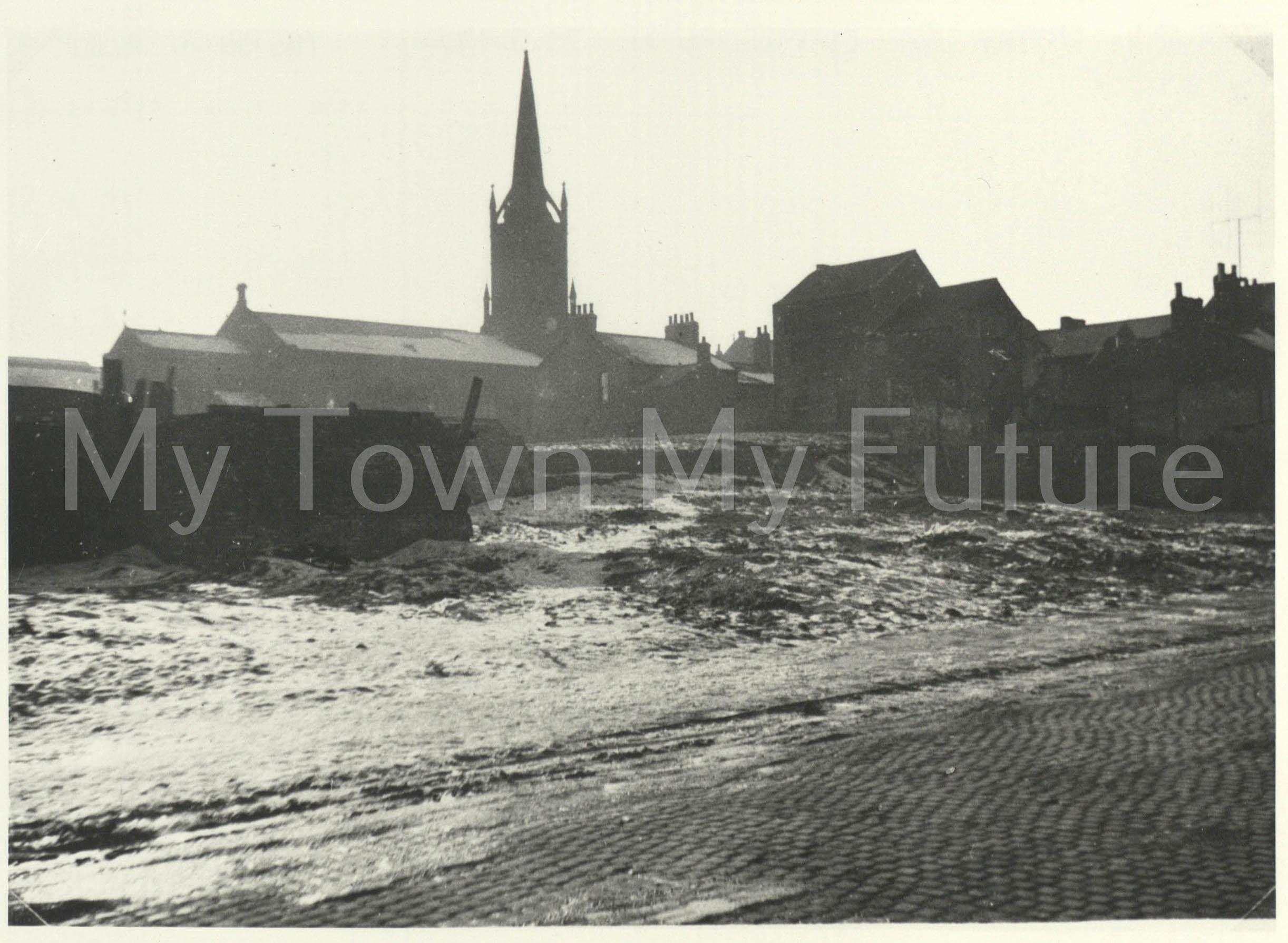 St Hilda's Church, 1955, Dept. of Ec. Dev. & Planning - Cleveland County Council
