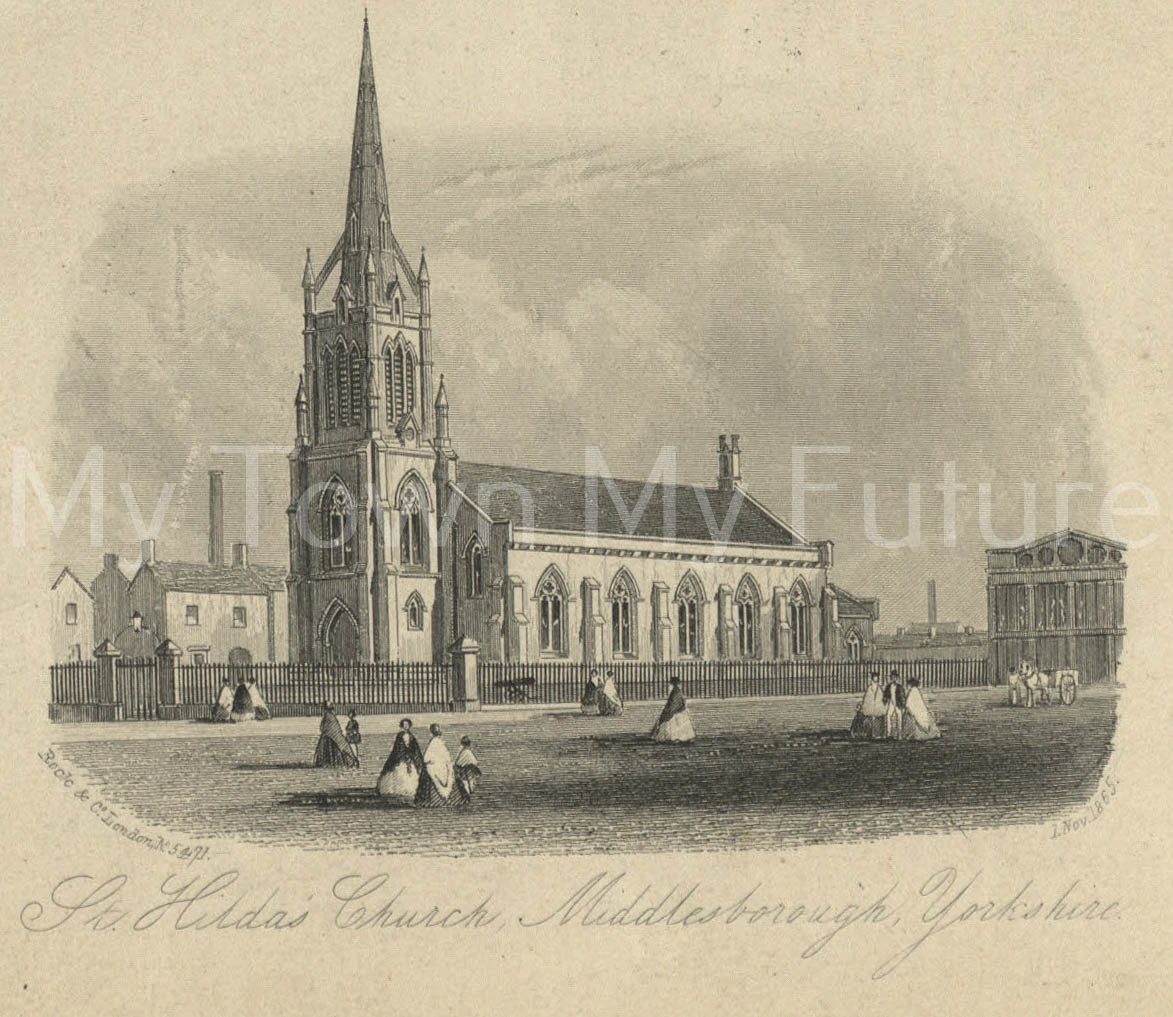 St Hilda's Church, Middlesbrough Public Libraries