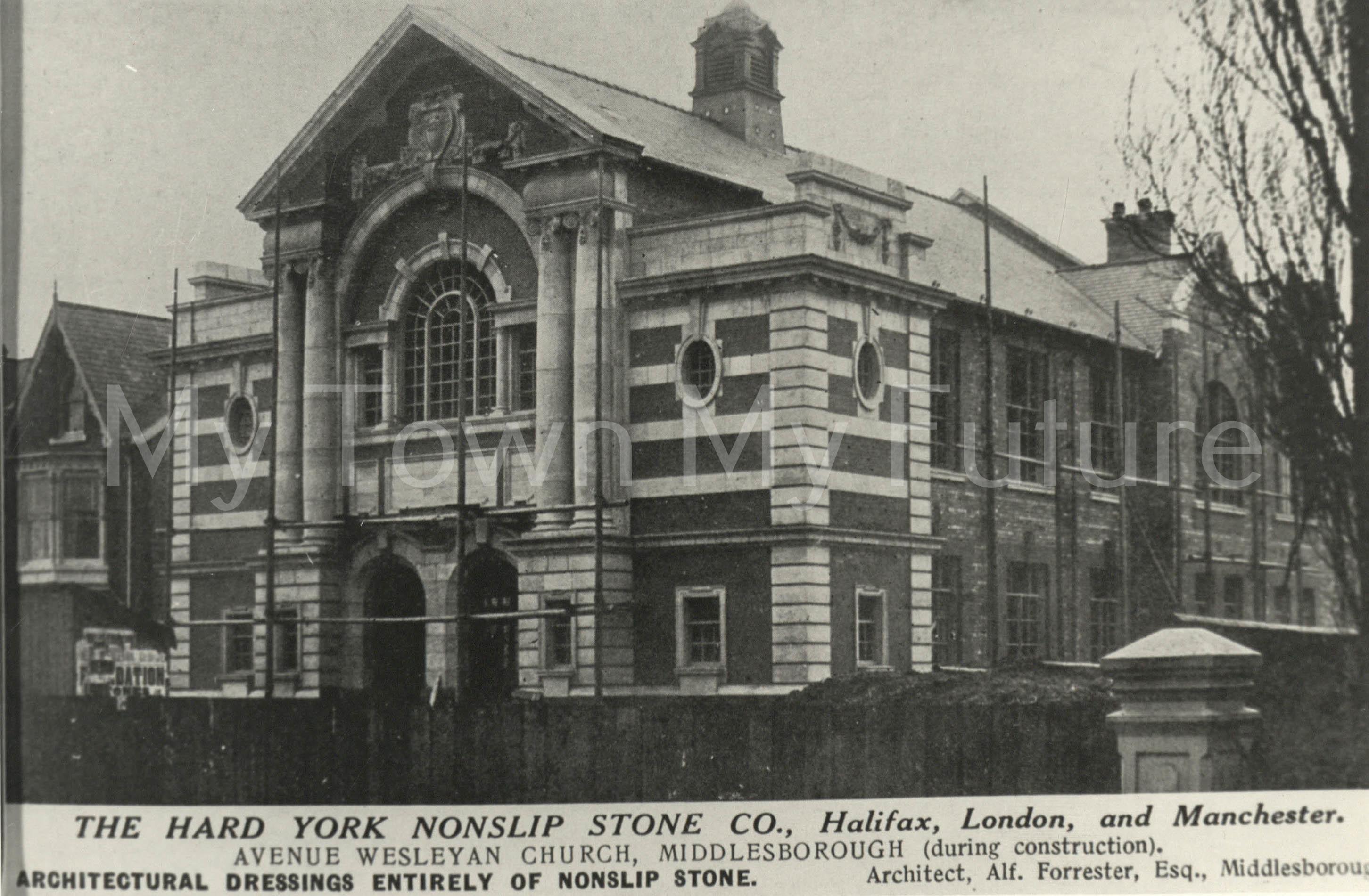 The Avenue Wesleyan Church.