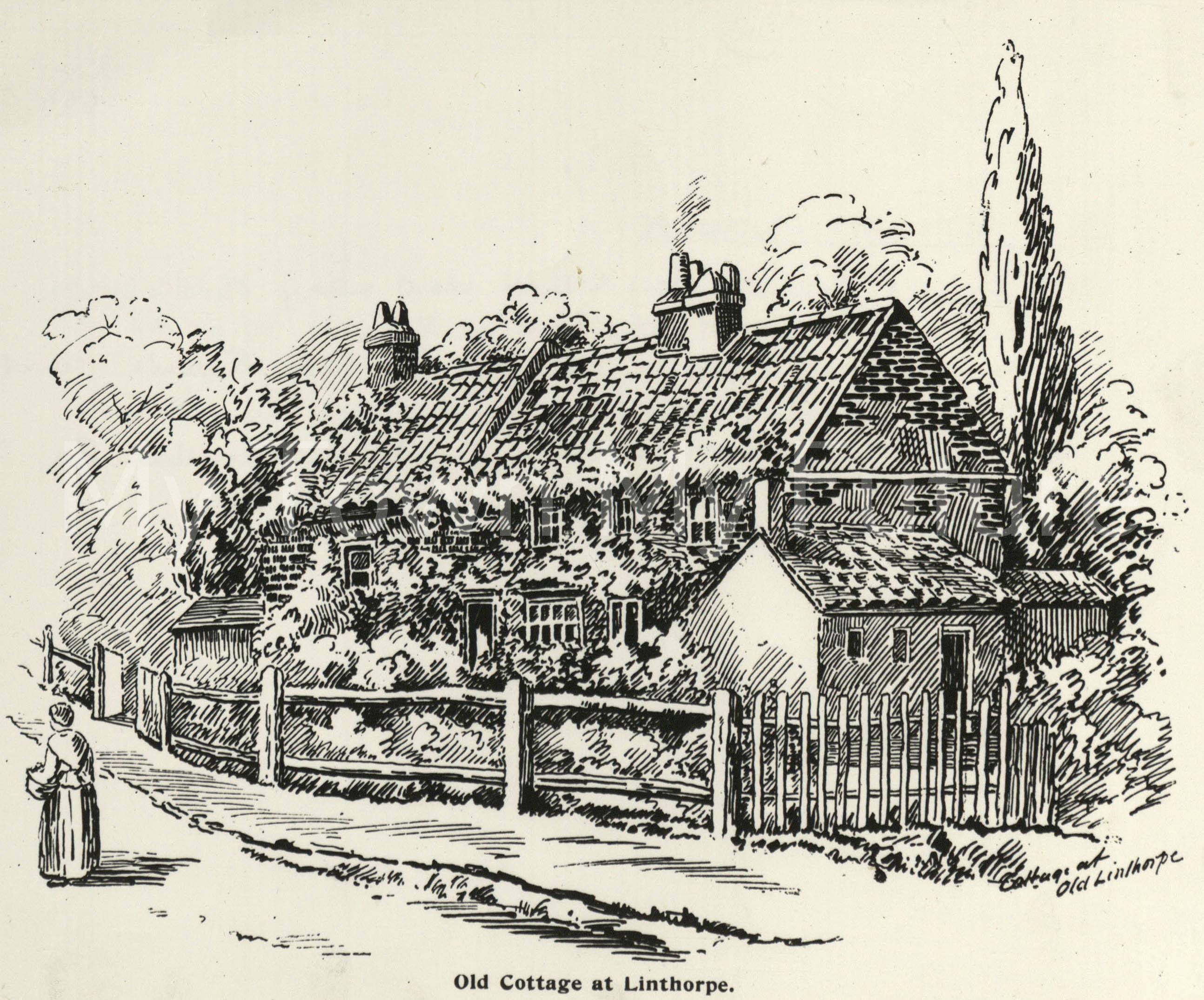 Old Cottages, Linthorpe.