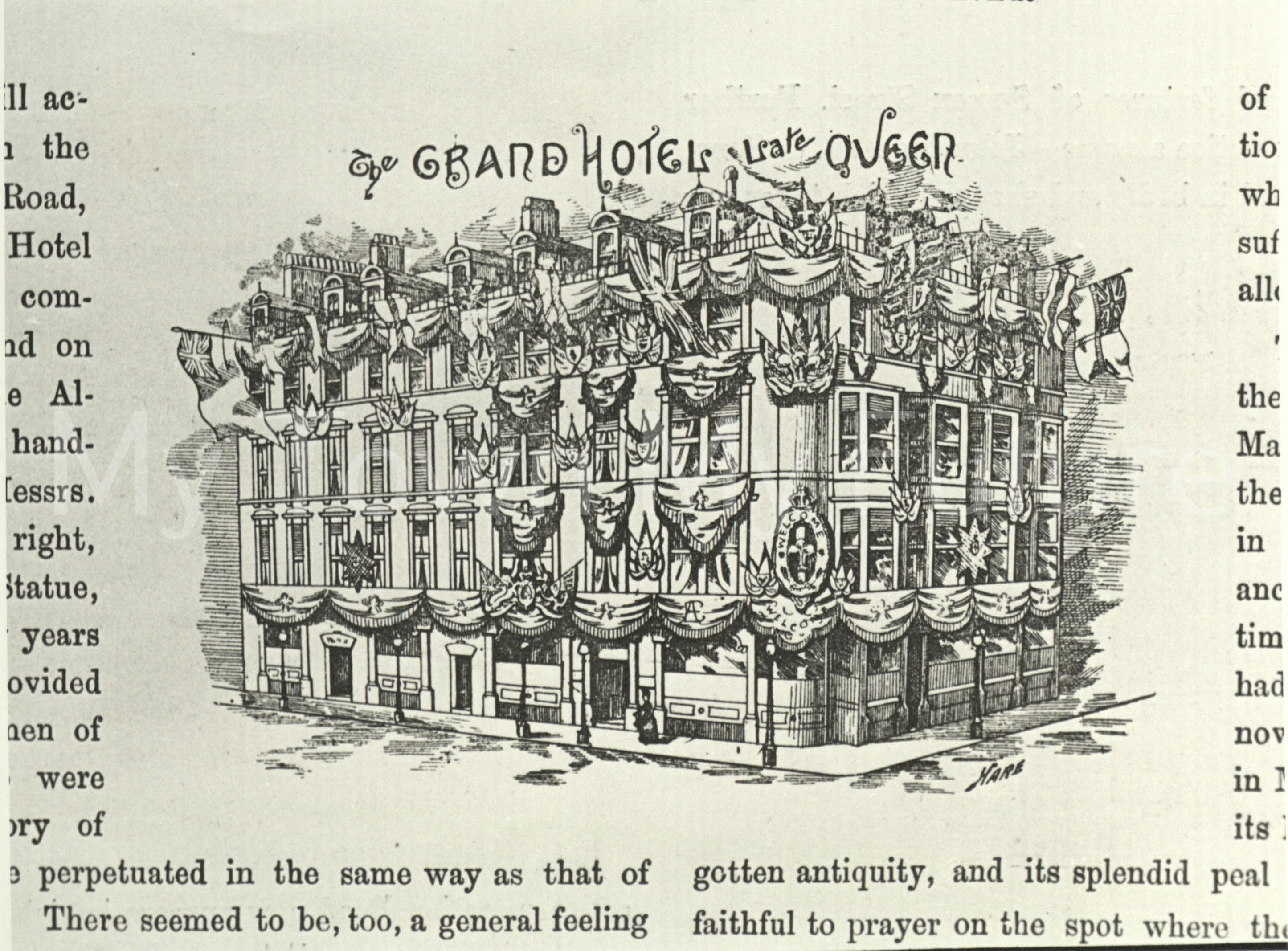 The Grand Hotel,Zetland Road