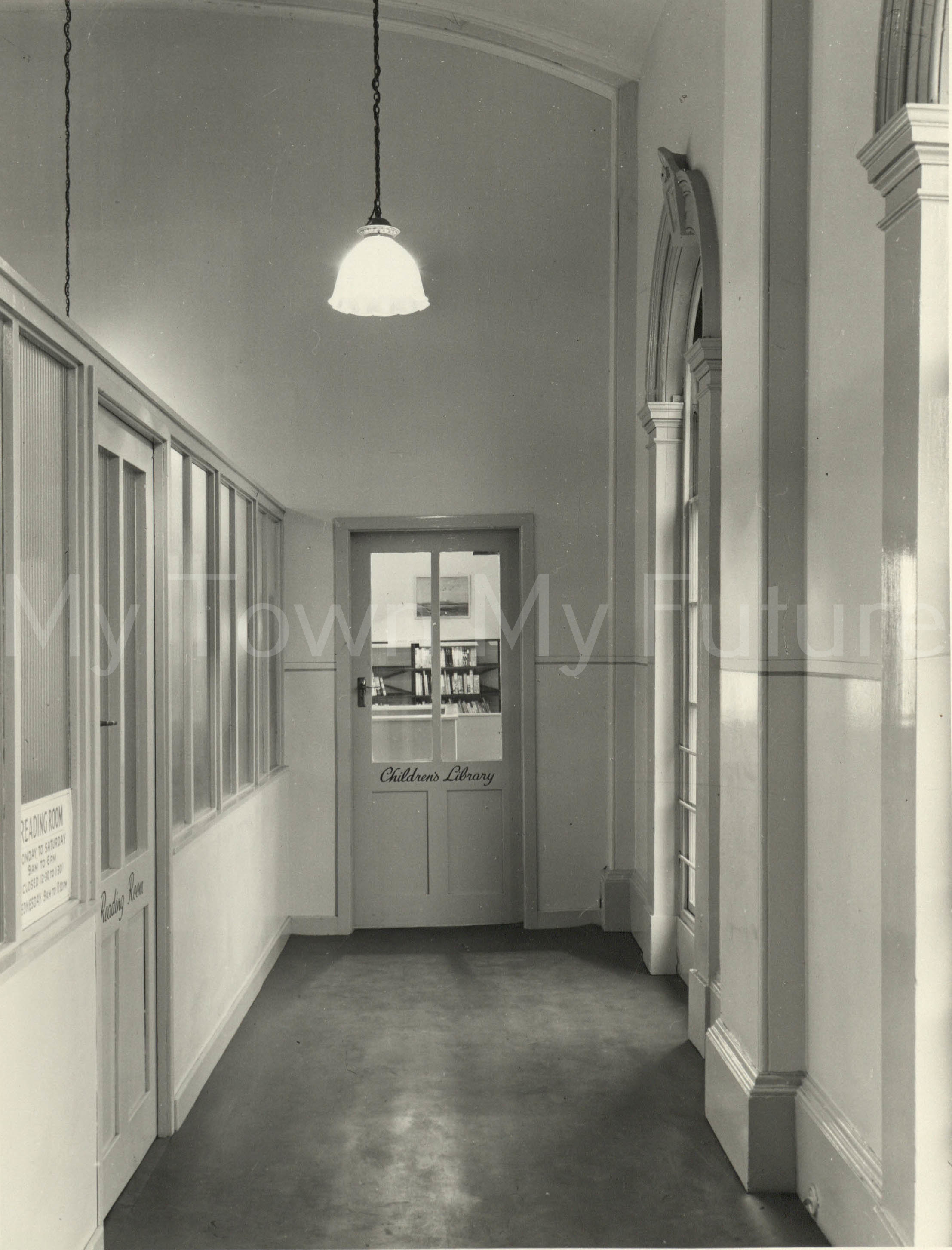 Market Place Library, 1952, Borough Engineers Department