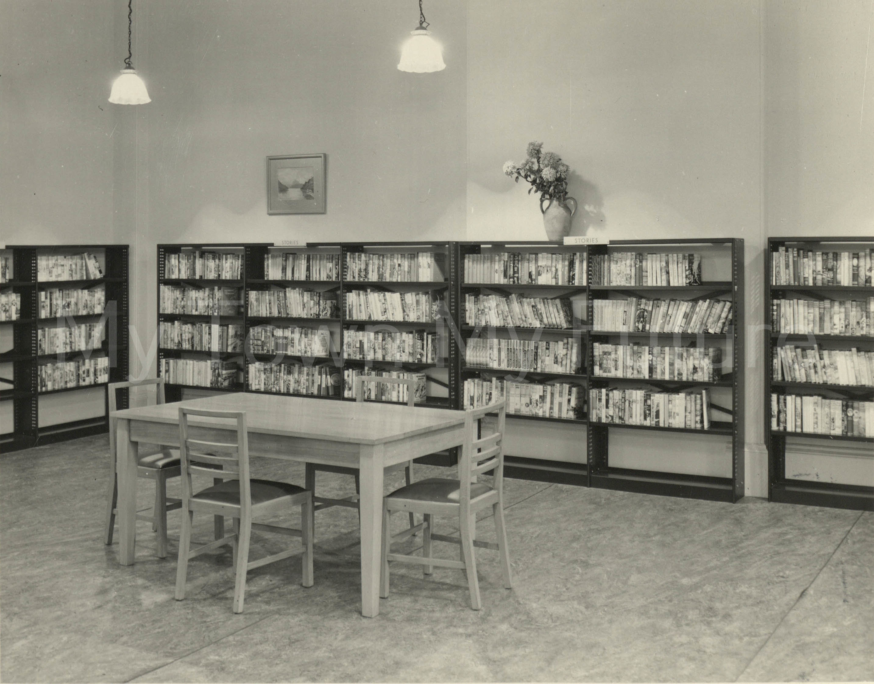 Market Place Library, 1954, Borough Engineers Department