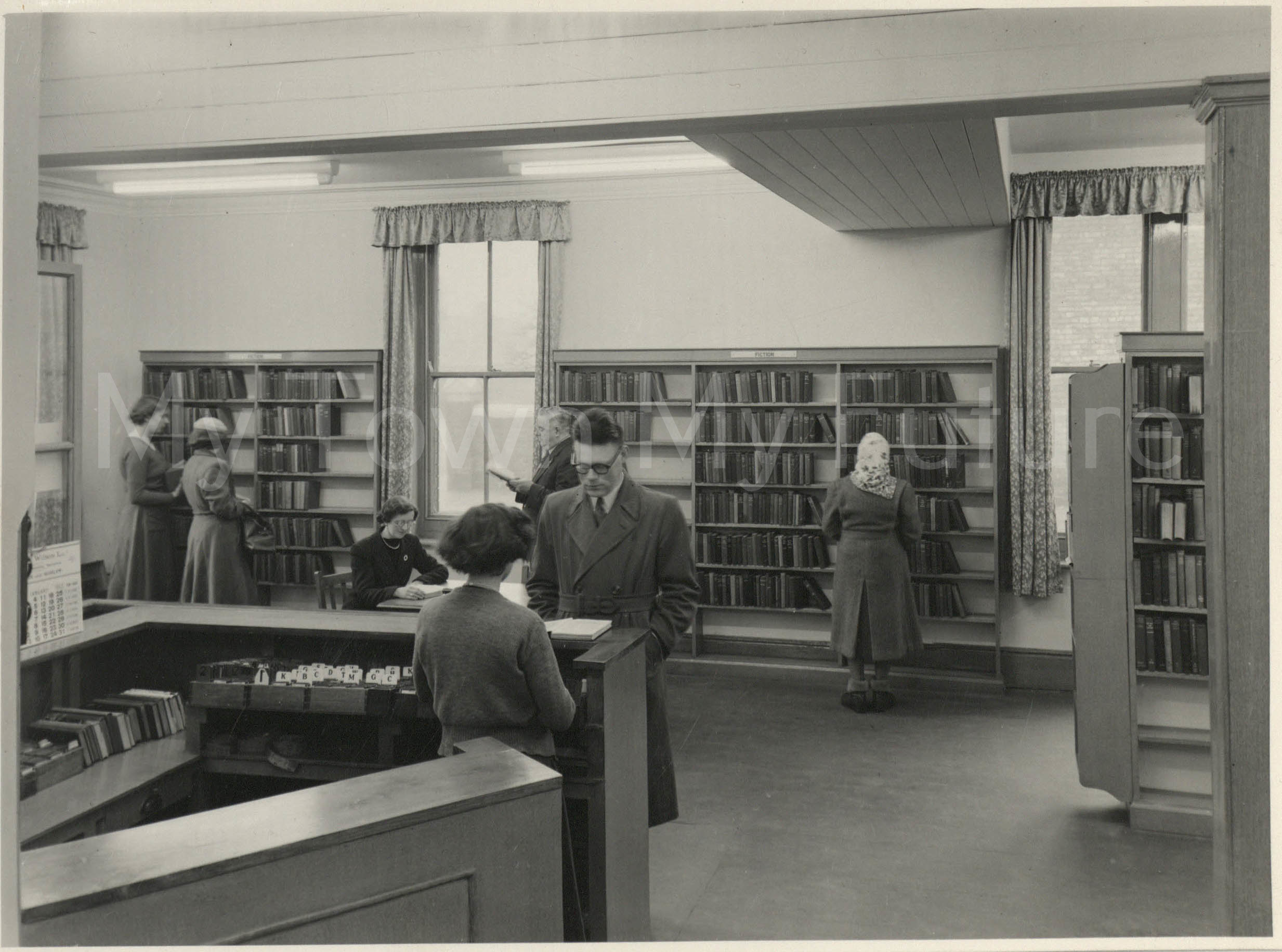 North Ormesby Library Re-Opening, 1953, Mather's Photographers, 140 Linthorpe Road, Middlesbrough