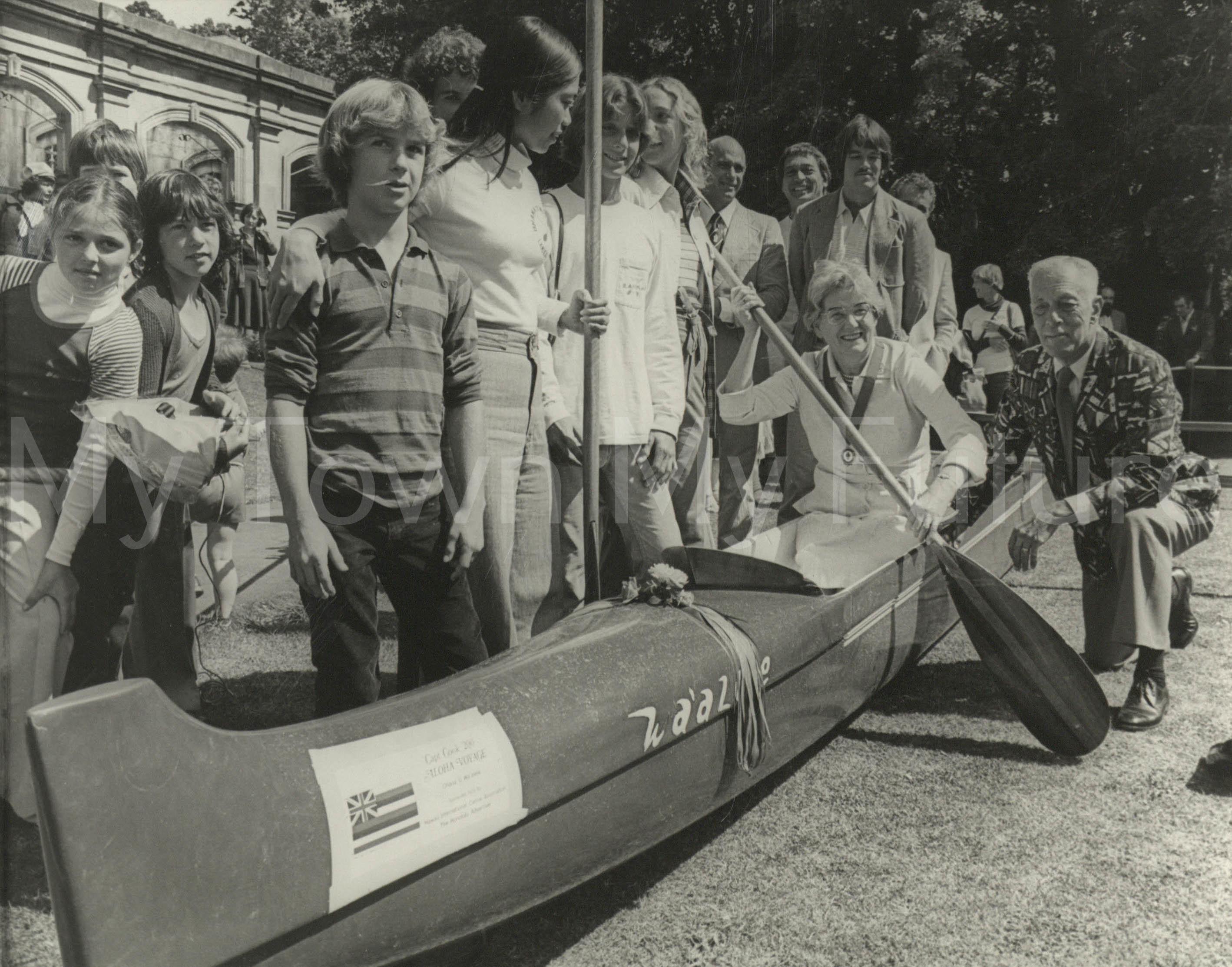 Captain Cook Museum Hawaiian Canoe 1978