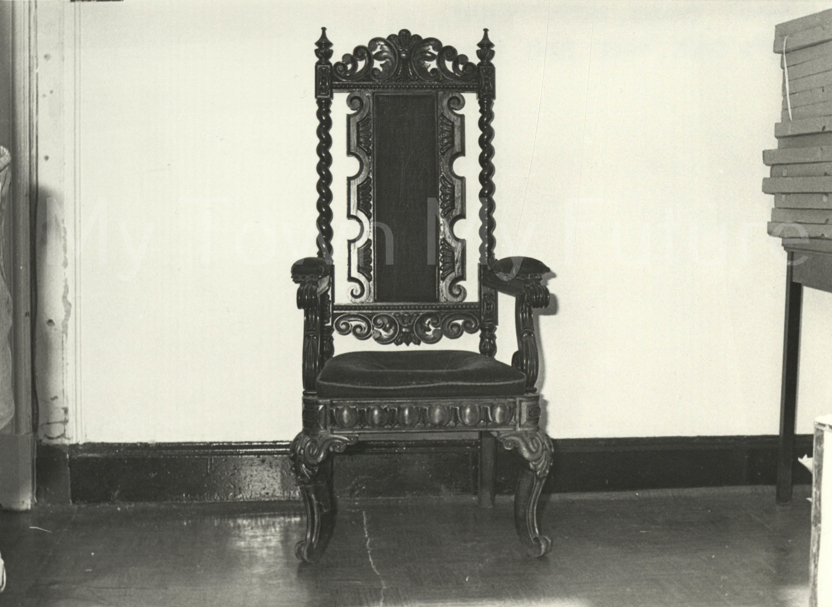 St Hilda's Church Bishops Chair Made From Priory Timber