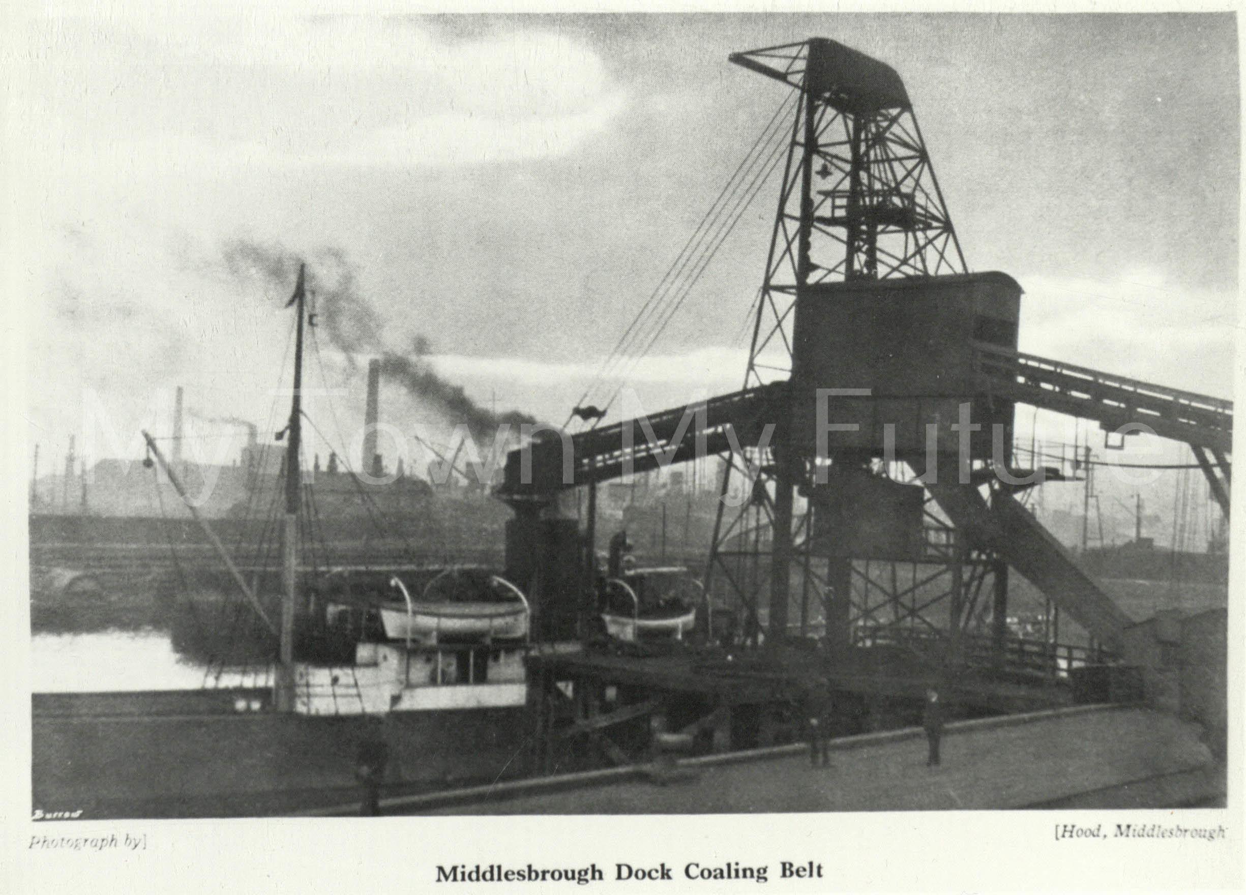 Middlesbrough Docks (1940).