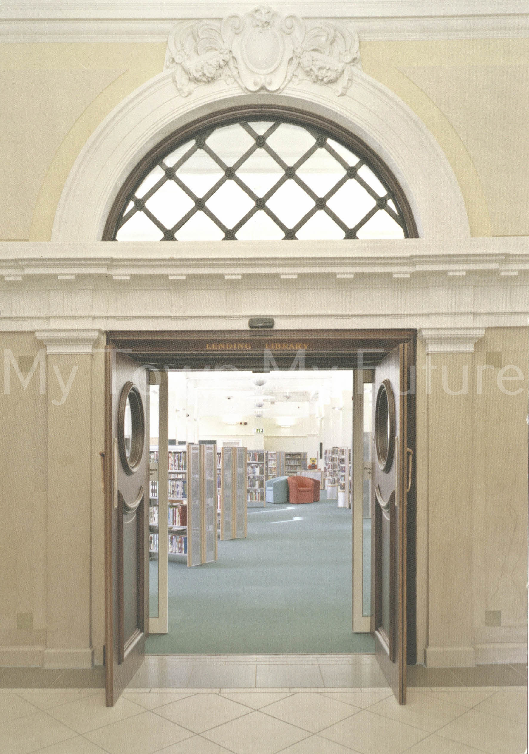 Central Library Re- Opening