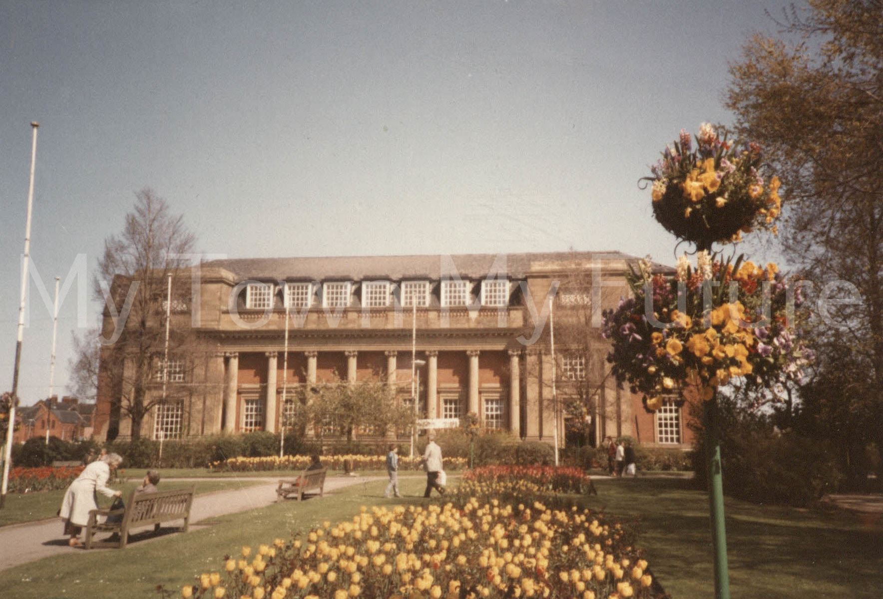 Central Library Front Exterior