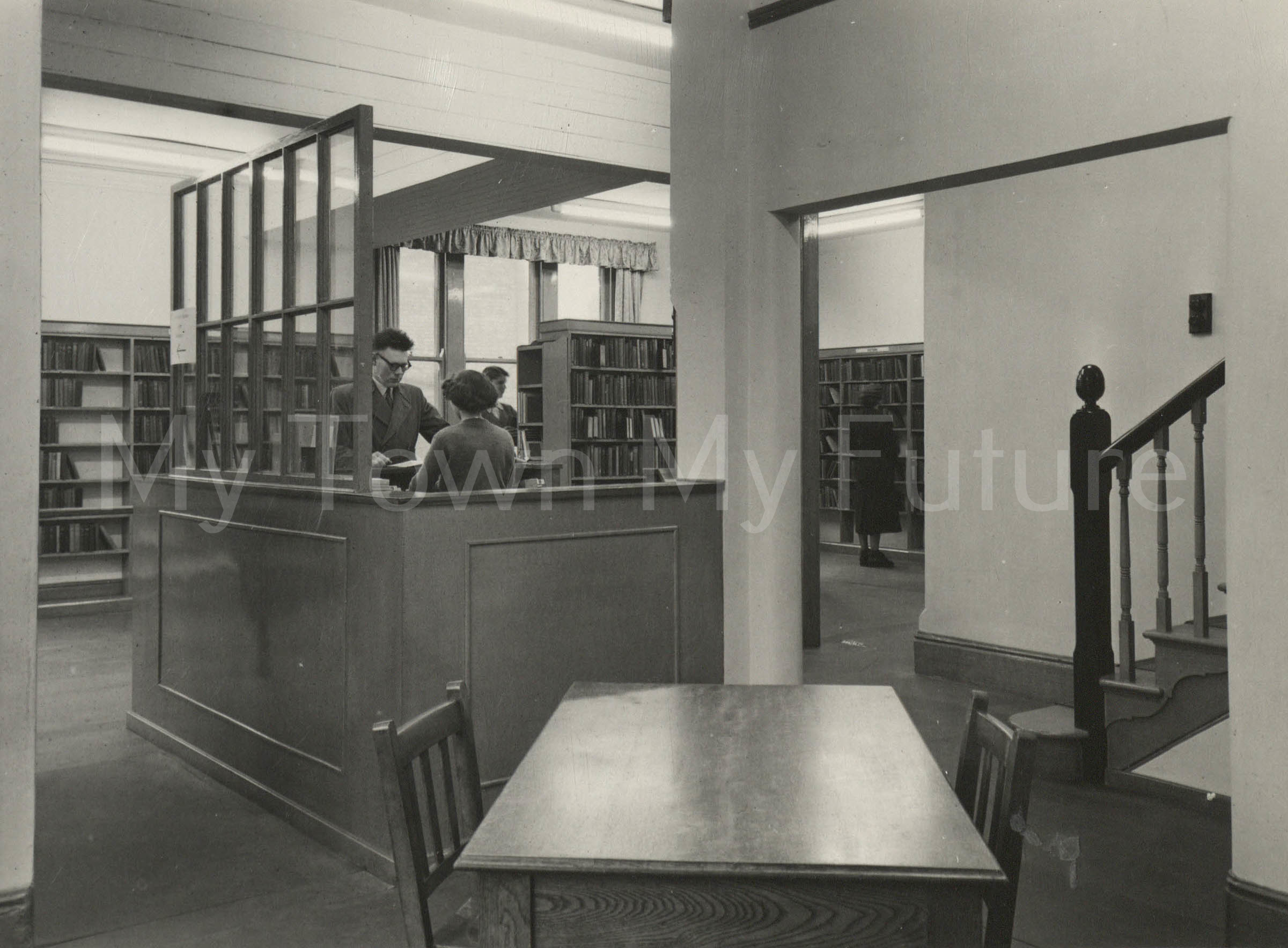 North Ormesby Library Re-Opening, 1953 - Mather's Photographers, 140 Linthorpe Road, Middlesbrough