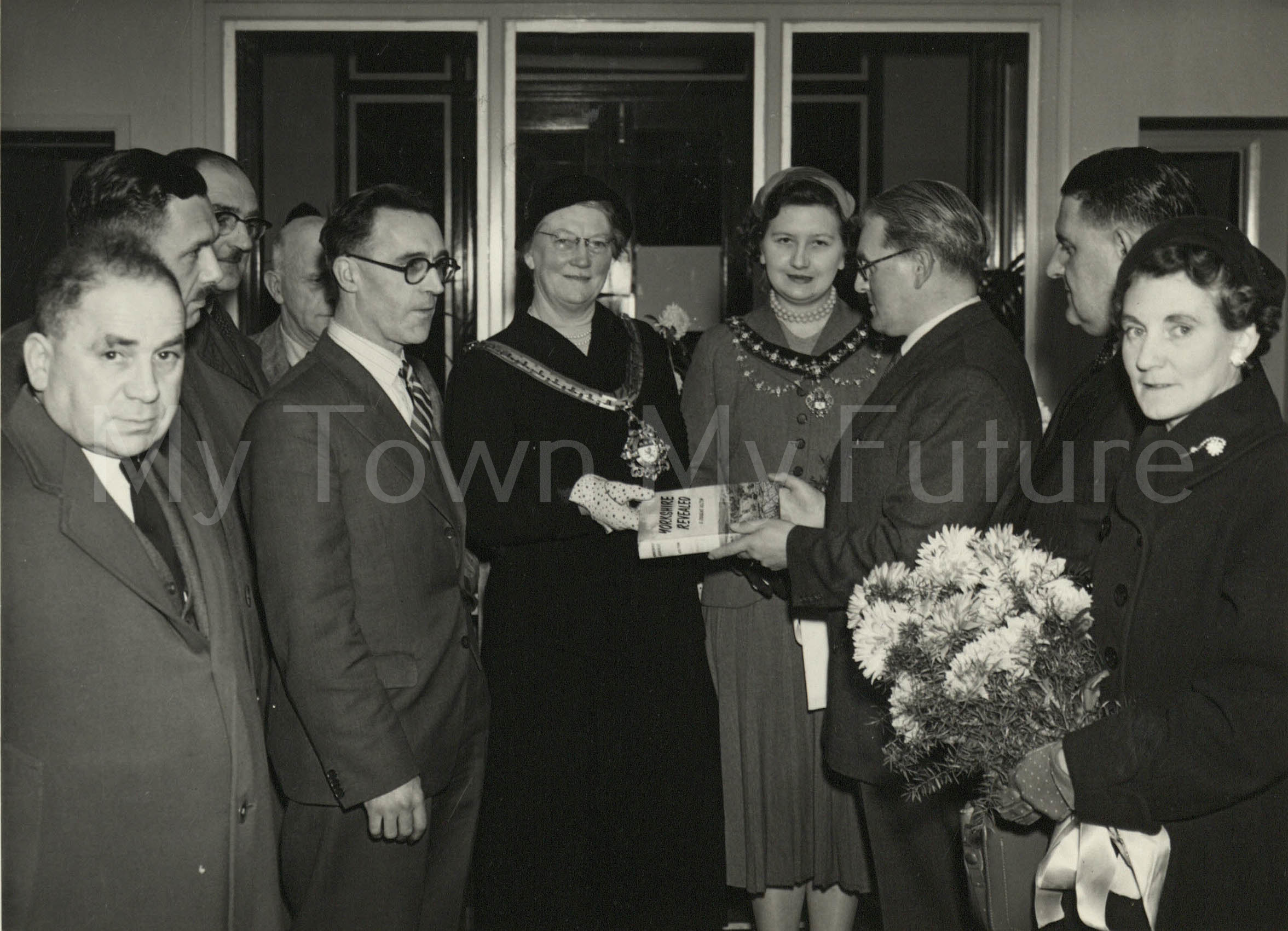Thorntree Library Opening (1955)