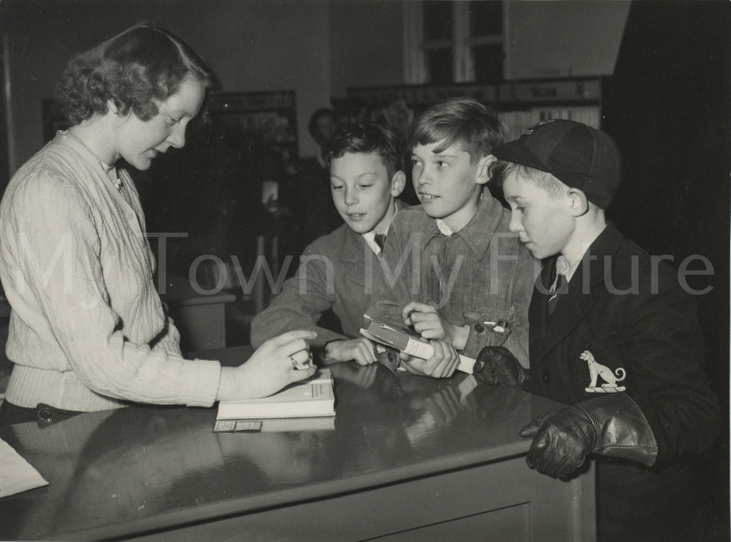 Whinney Banks Community Centre & Library, First Childrens Book Issued, 1951, North-Eastern Gazette