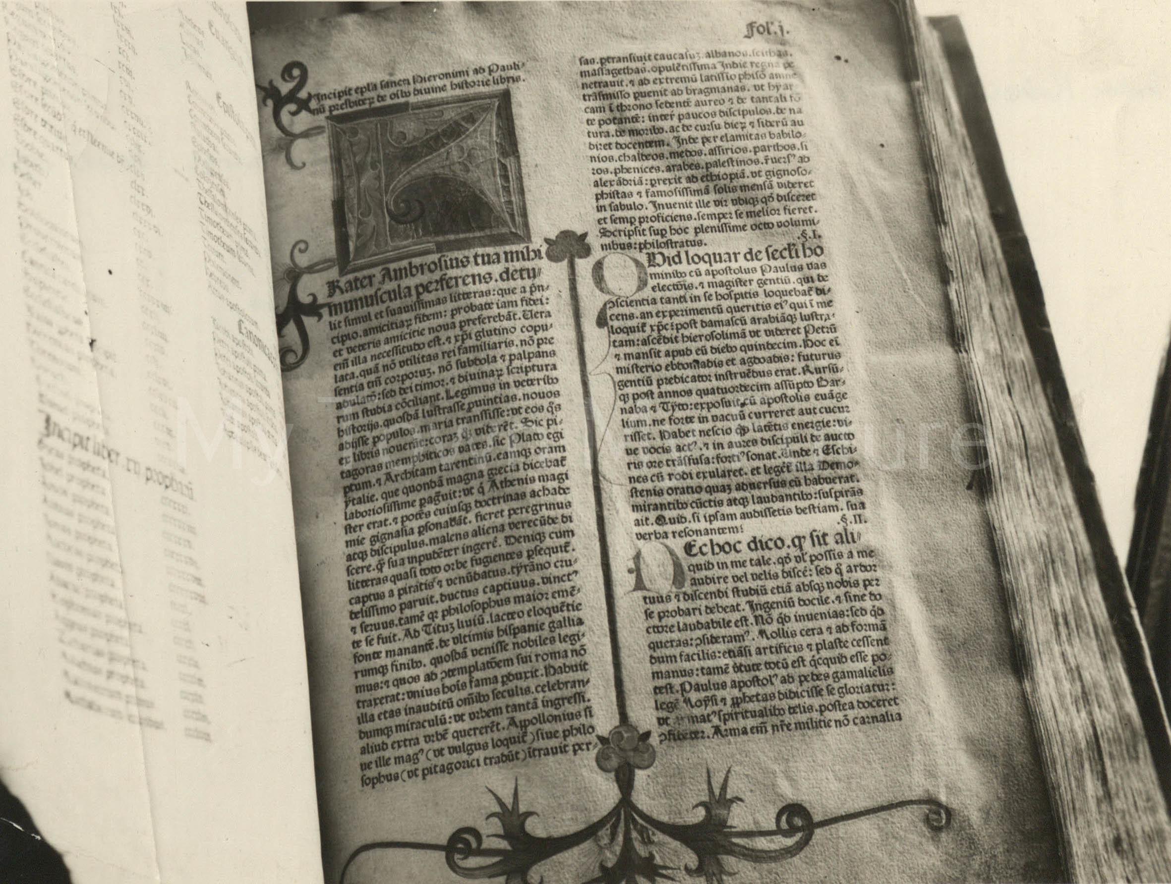 Koburger Bible, dated 1478