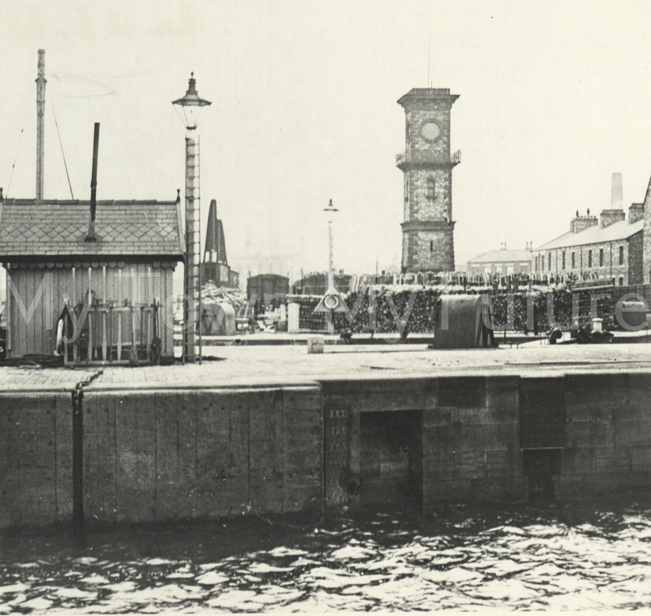 Middlesbrough Docks 1900