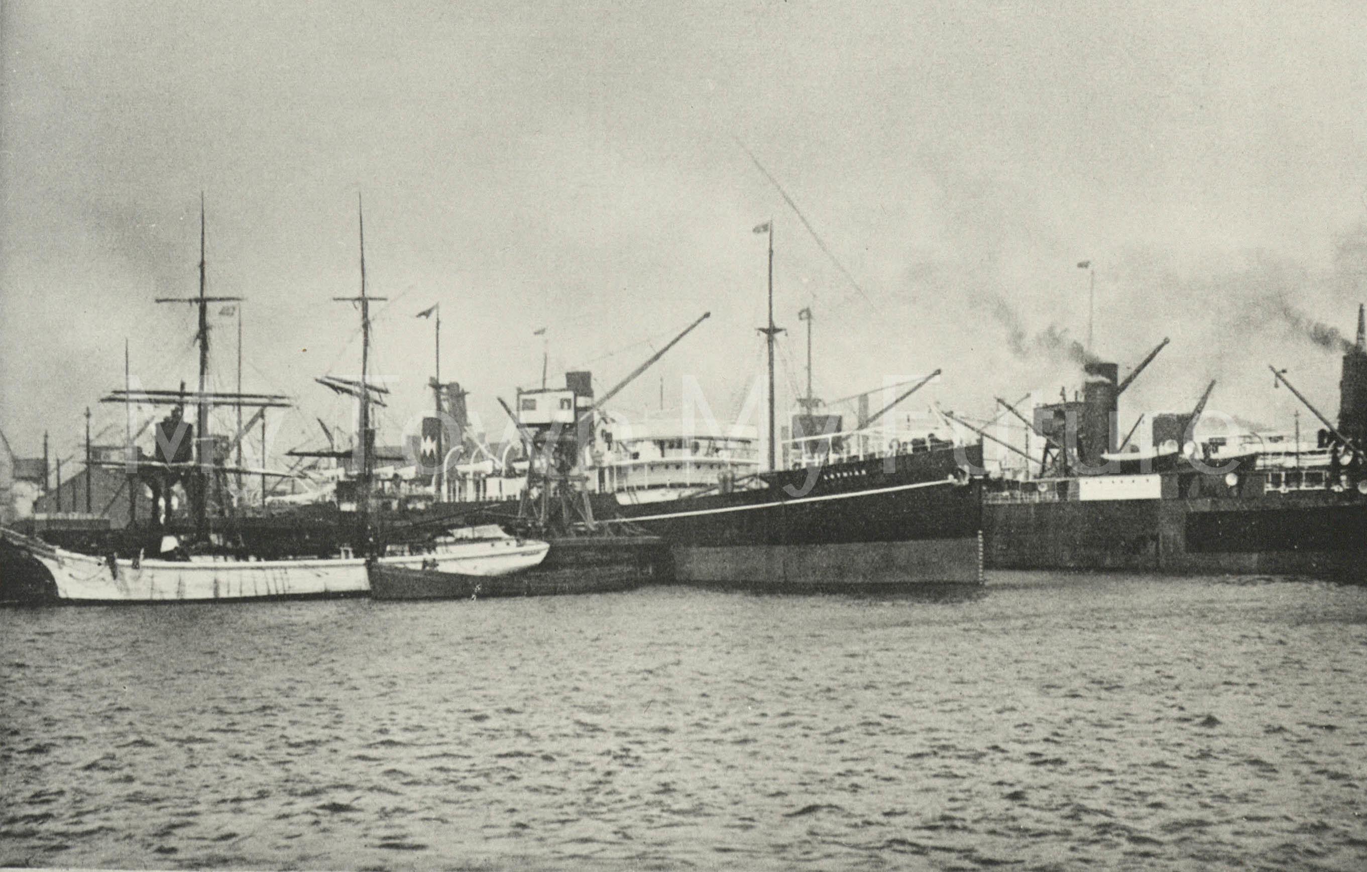 Middlesbrough Docks 1926