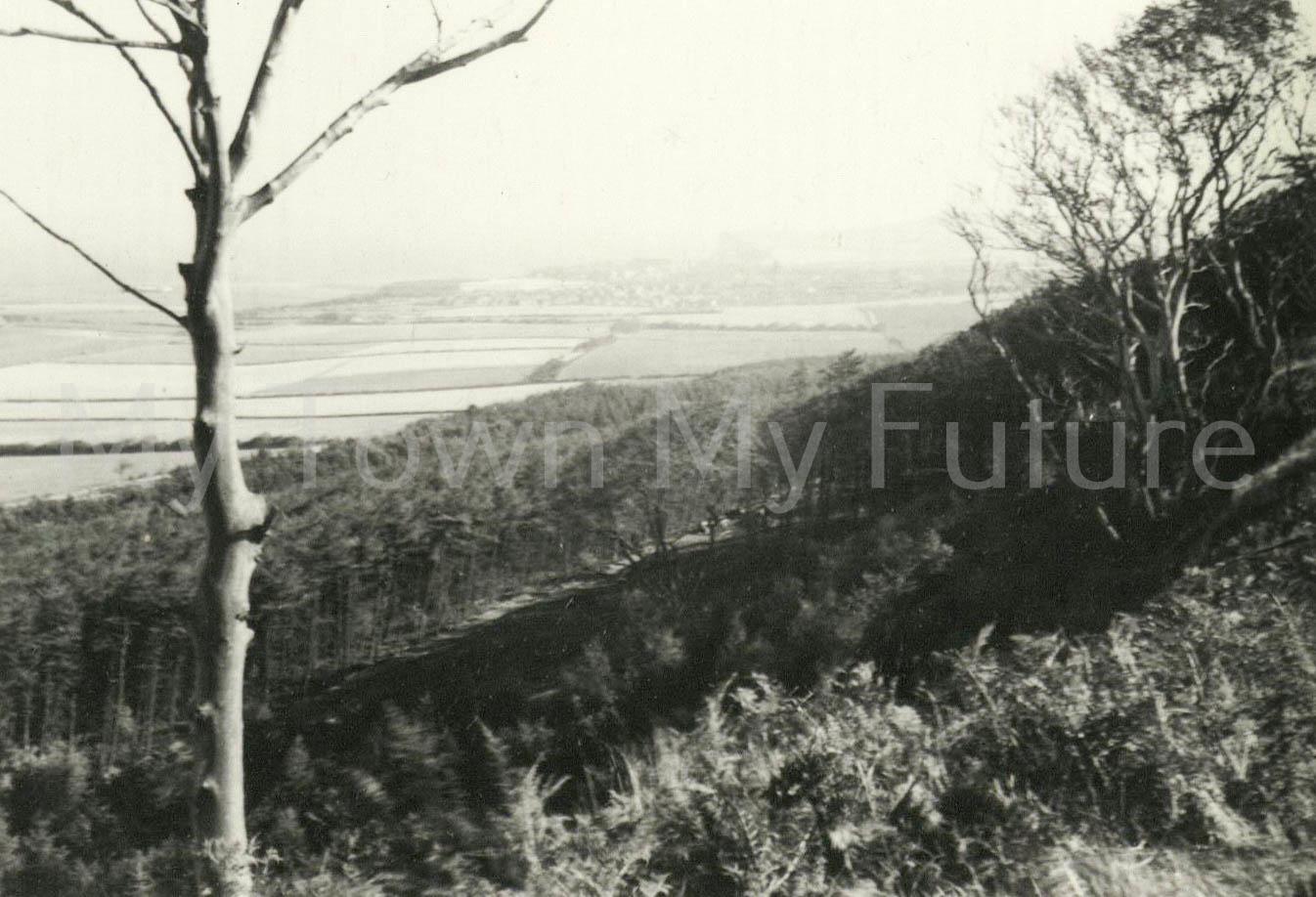 Eston hills towards Skelton