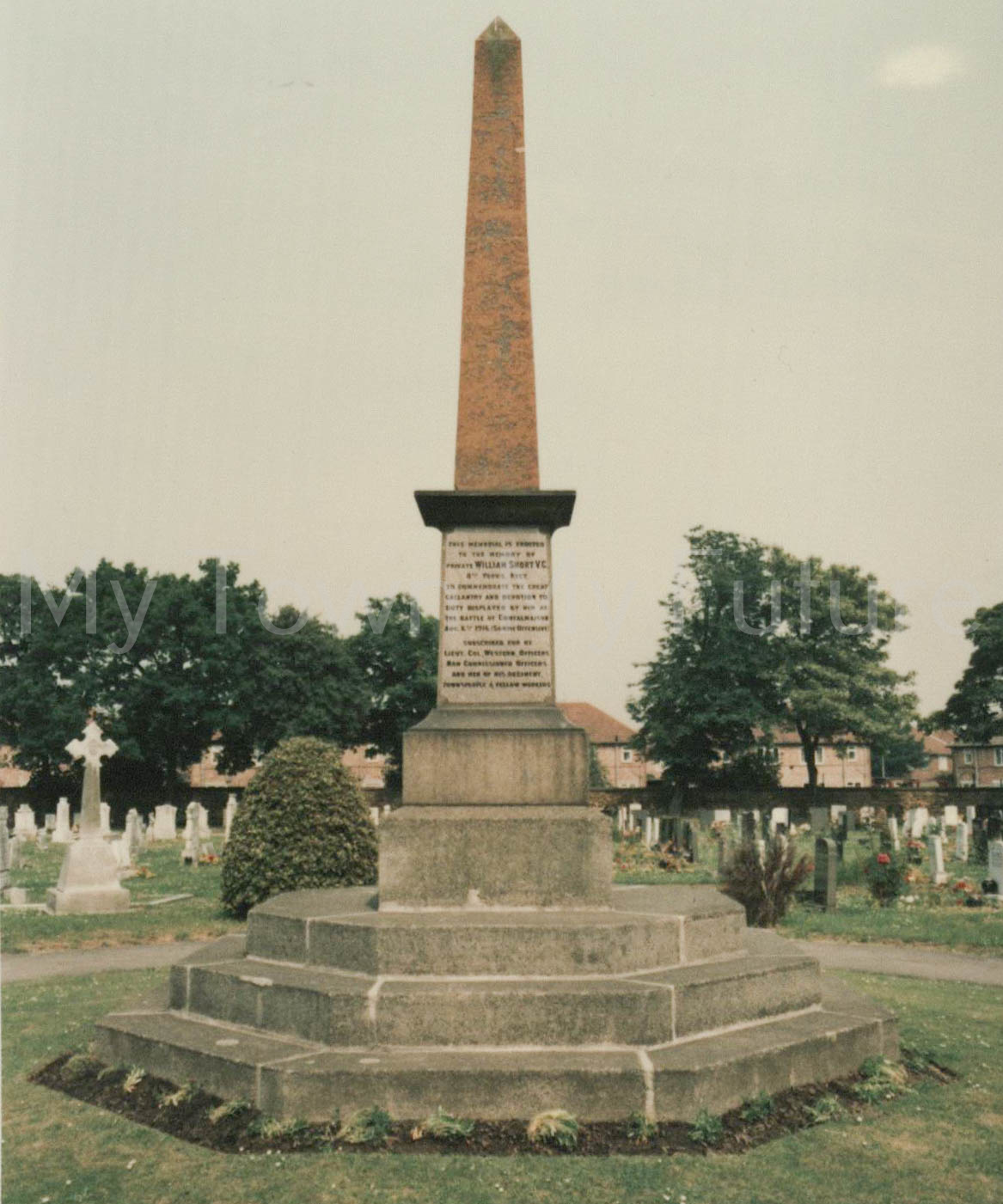 William Short VC Eston Cemetery