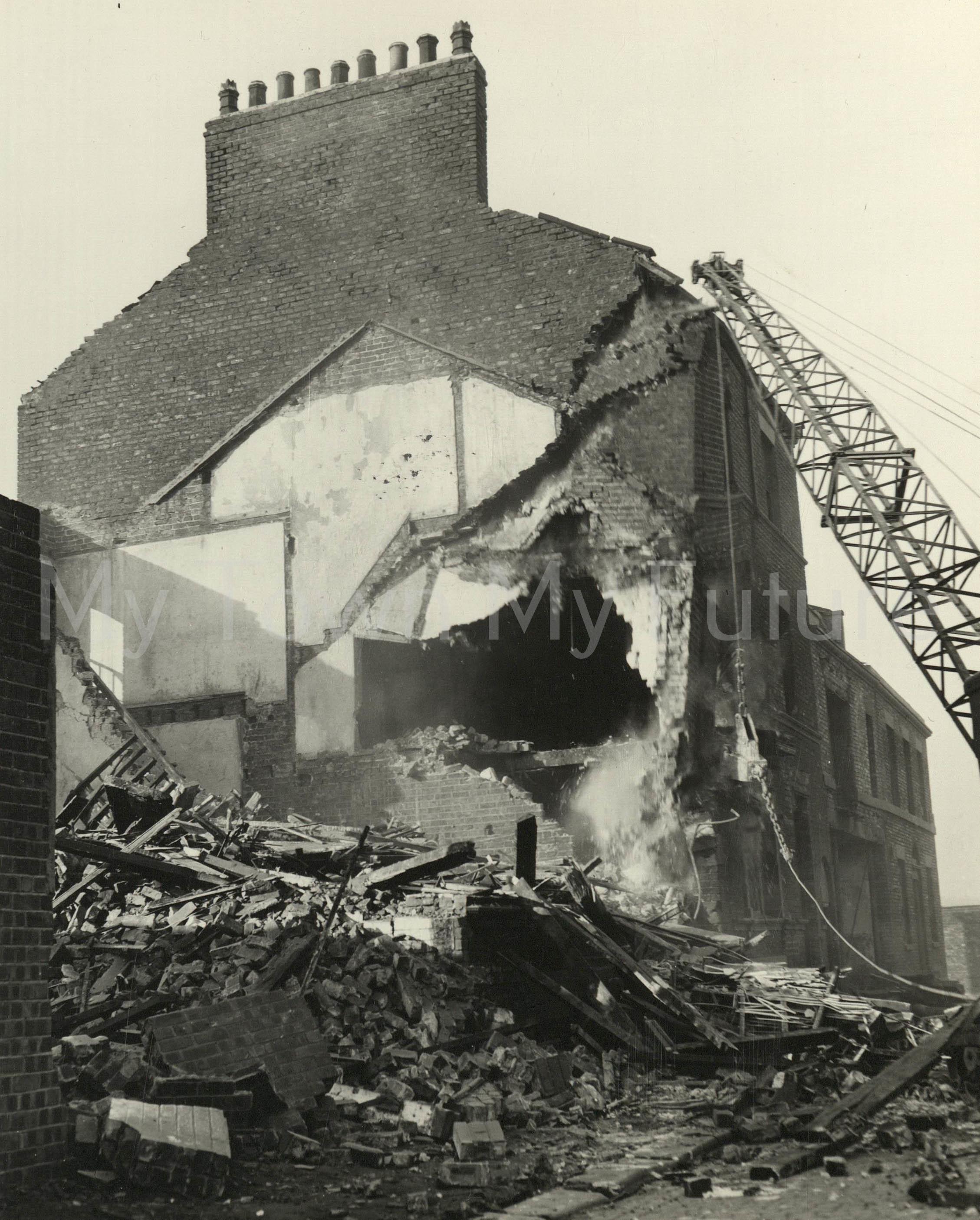 Commercial Street Demolition