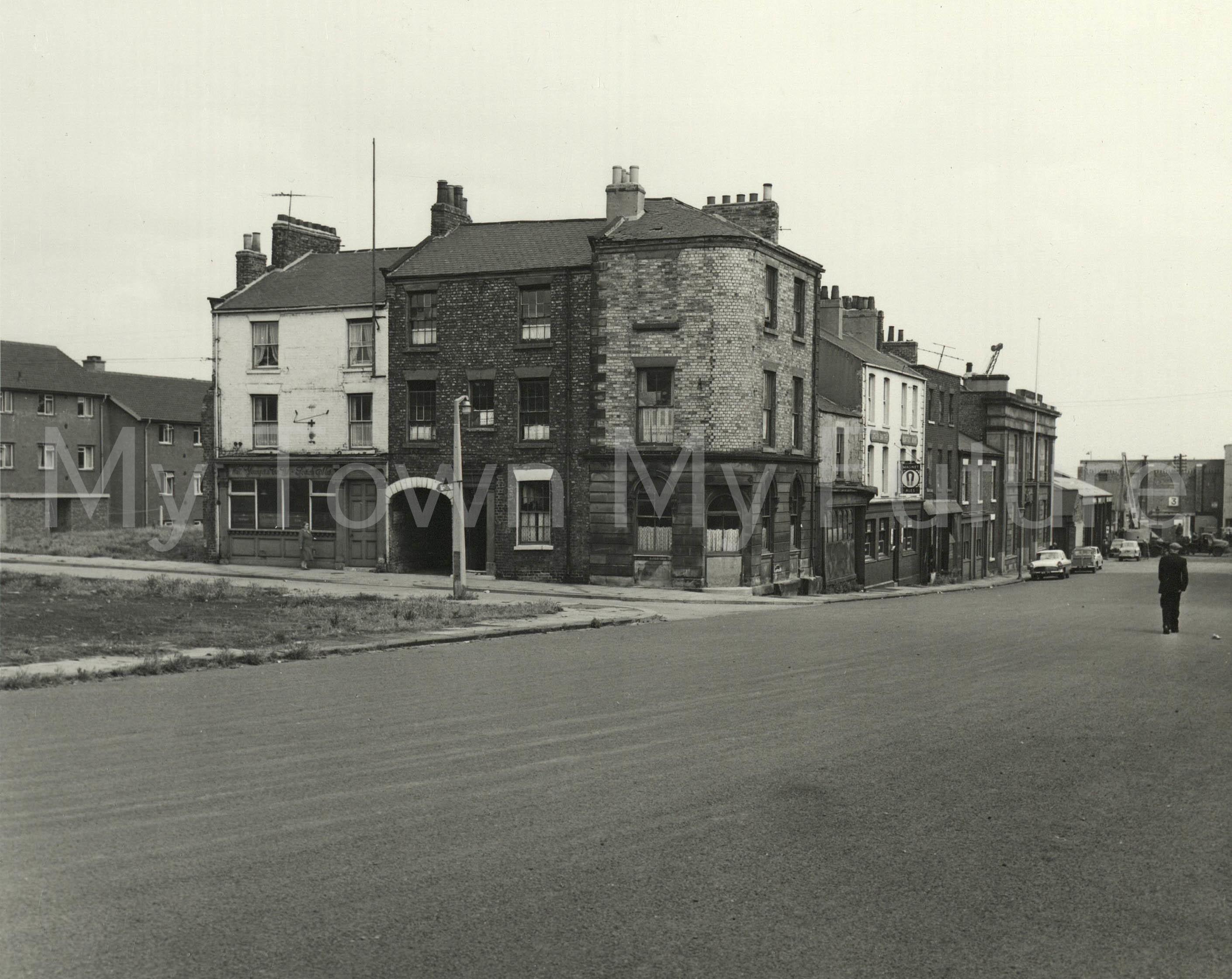 Dacre Street,North Street Corner