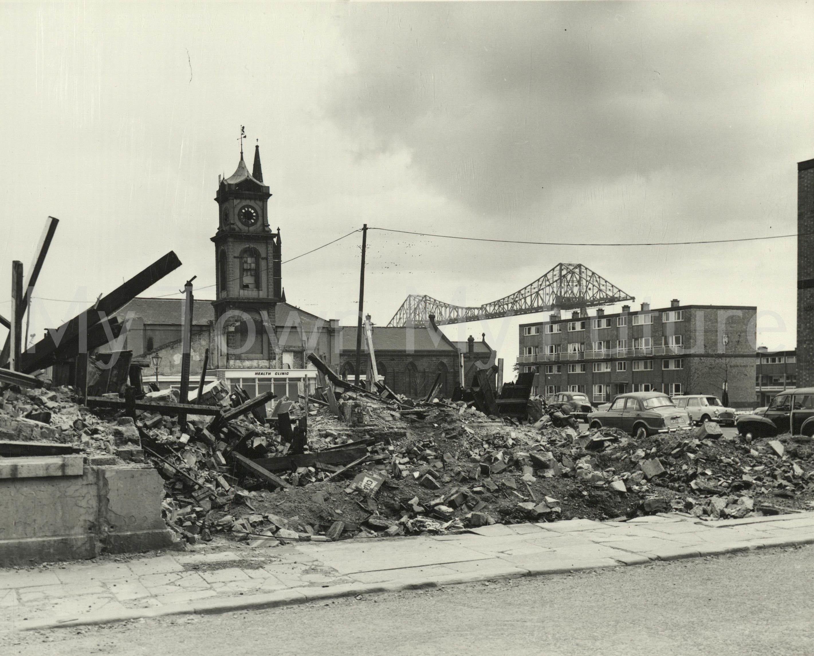 Suffield Street Demolition