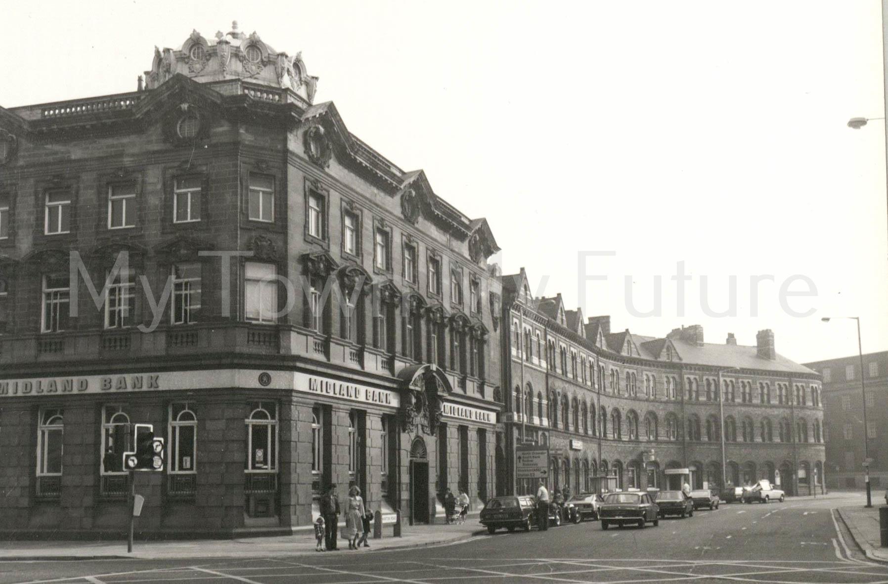 Midland Bank,Exchange Place,Marton Road