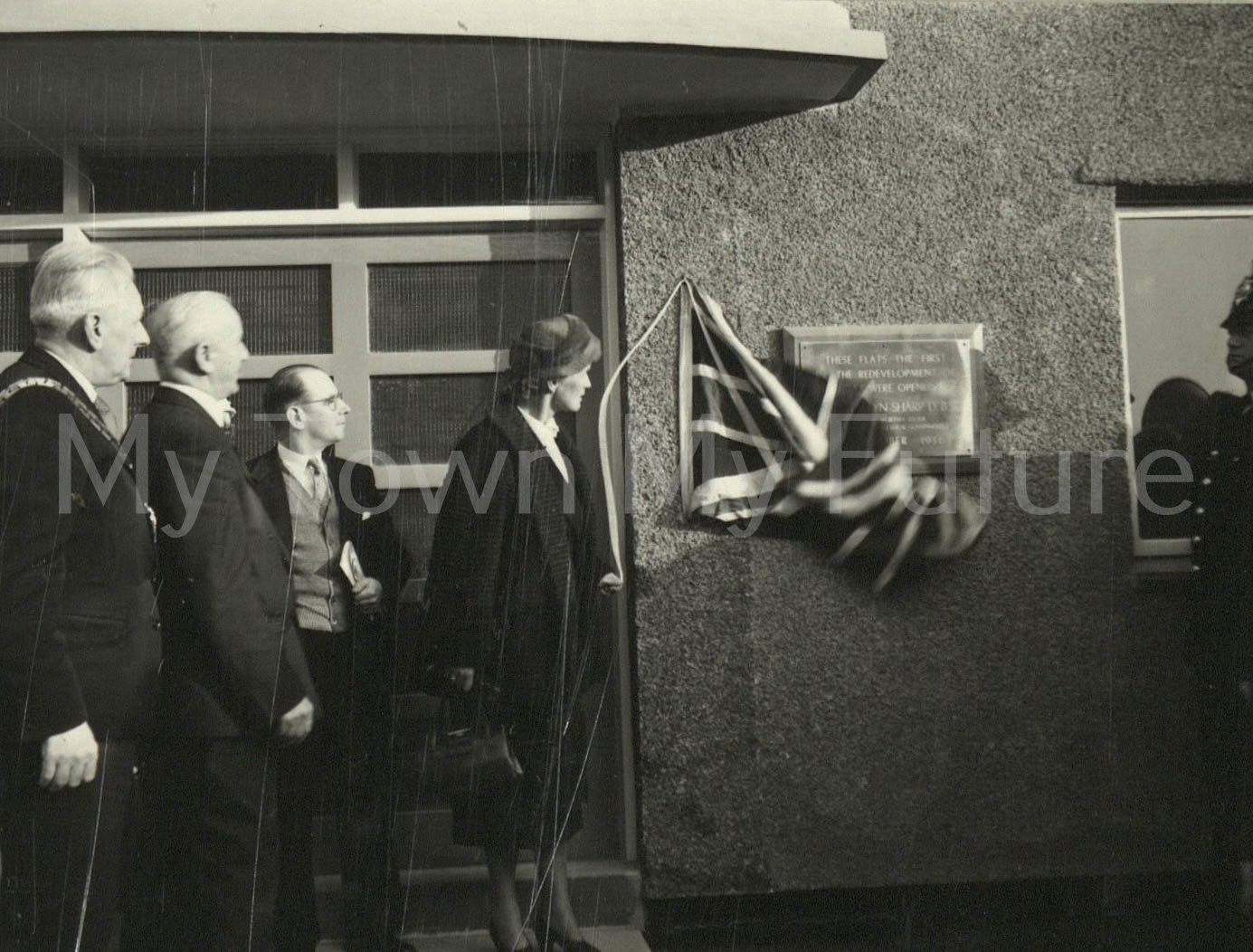 Official Opening Of St Hilda's Flats